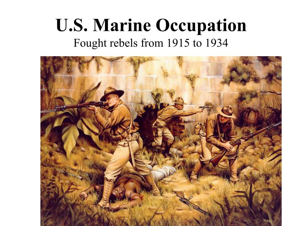U.S. Marine Occupation