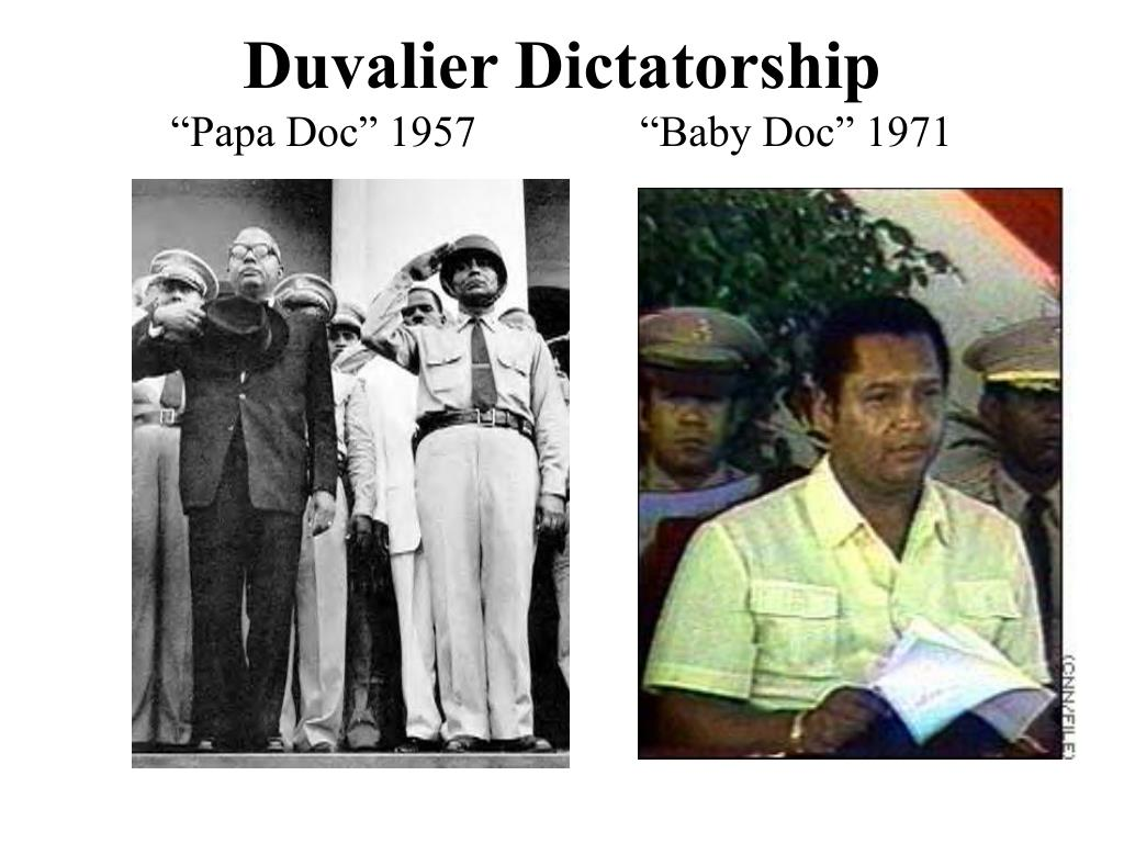 Duvalier Dictatorship