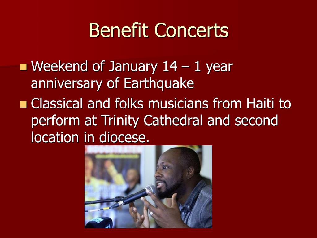 Benefit Concerts