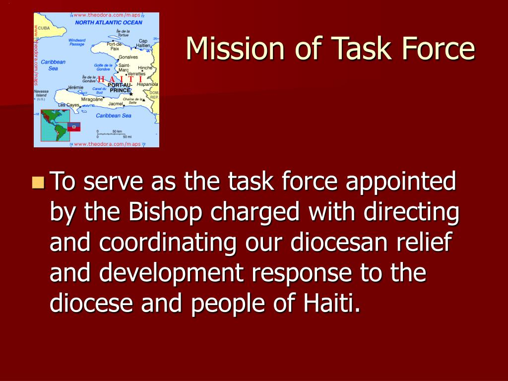 Mission of Task Force