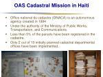 oas cadastral mission in haiti17