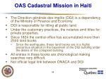 oas cadastral mission in haiti19