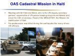 oas cadastral mission in haiti22