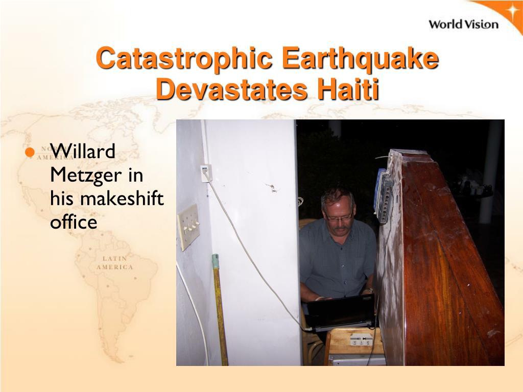 Catastrophic Earthquake Devastates Haiti