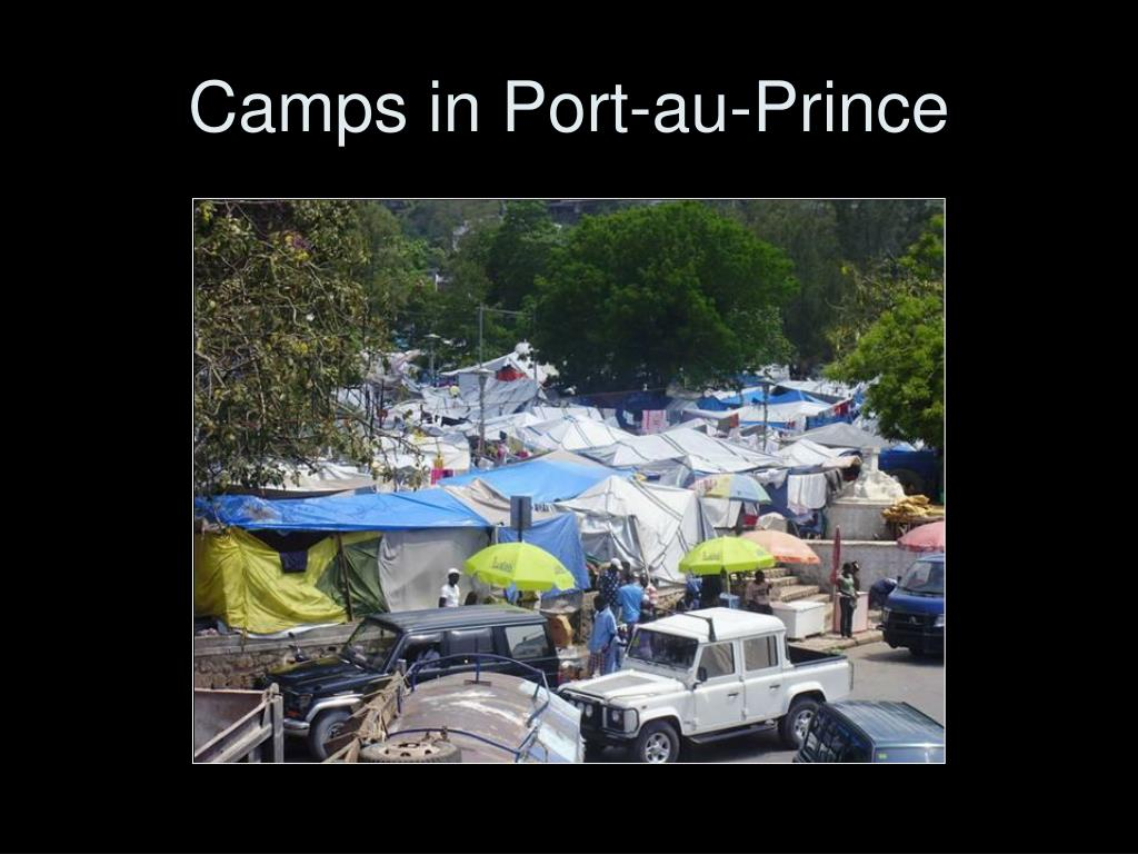 Camps in Port-au-Prince