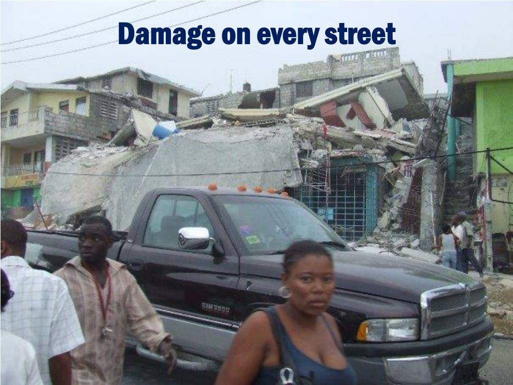 Damage on every street