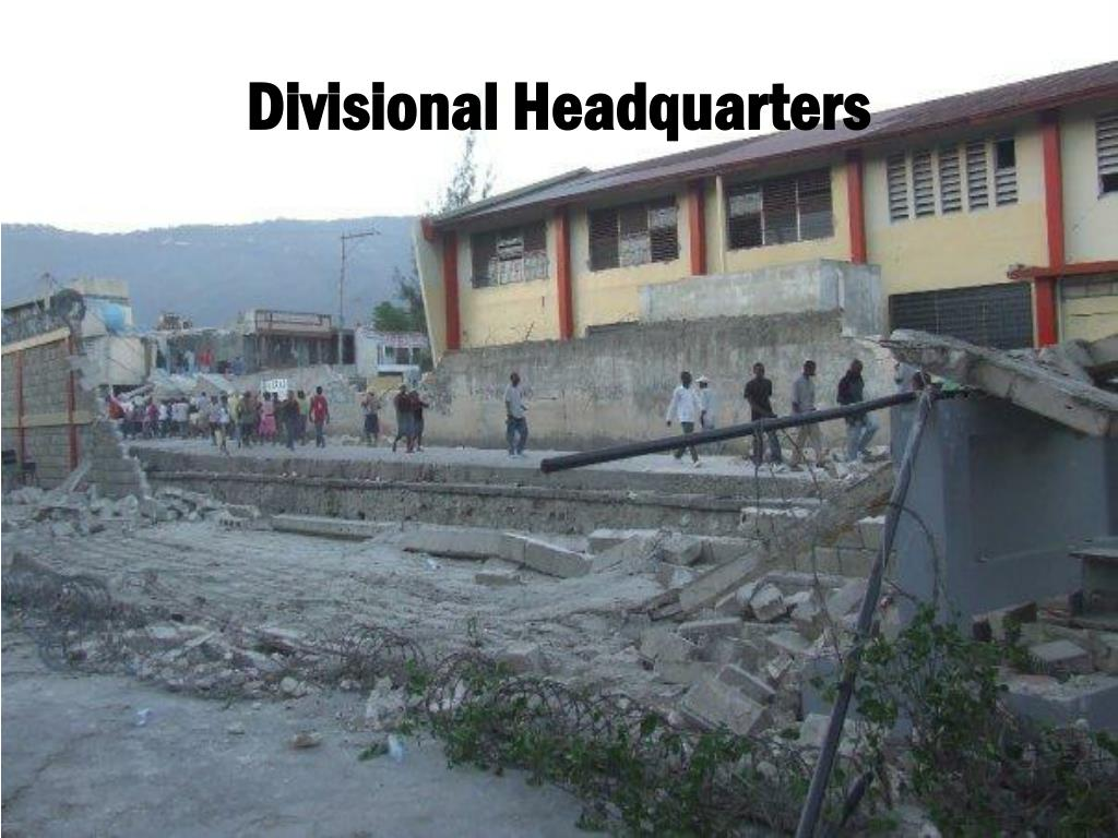 Divisional Headquarters