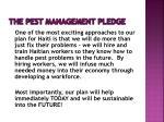 the pest management pledge14