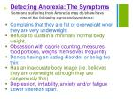 detecting anorexia the symptoms1