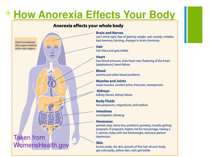 How Anorexia Effects Your Body