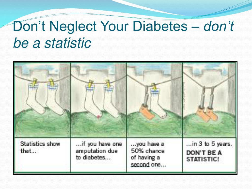 Don't Neglect Your Diabetes –