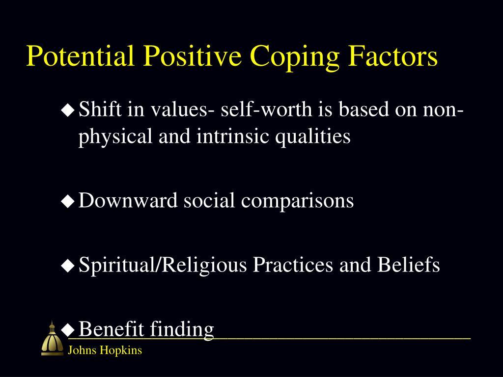 Potential Positive Coping Factors