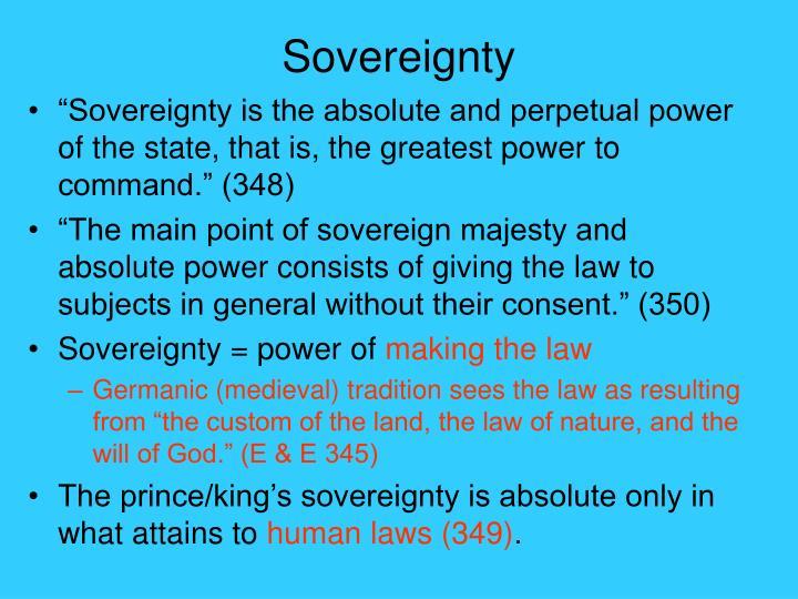 Sovereignty
