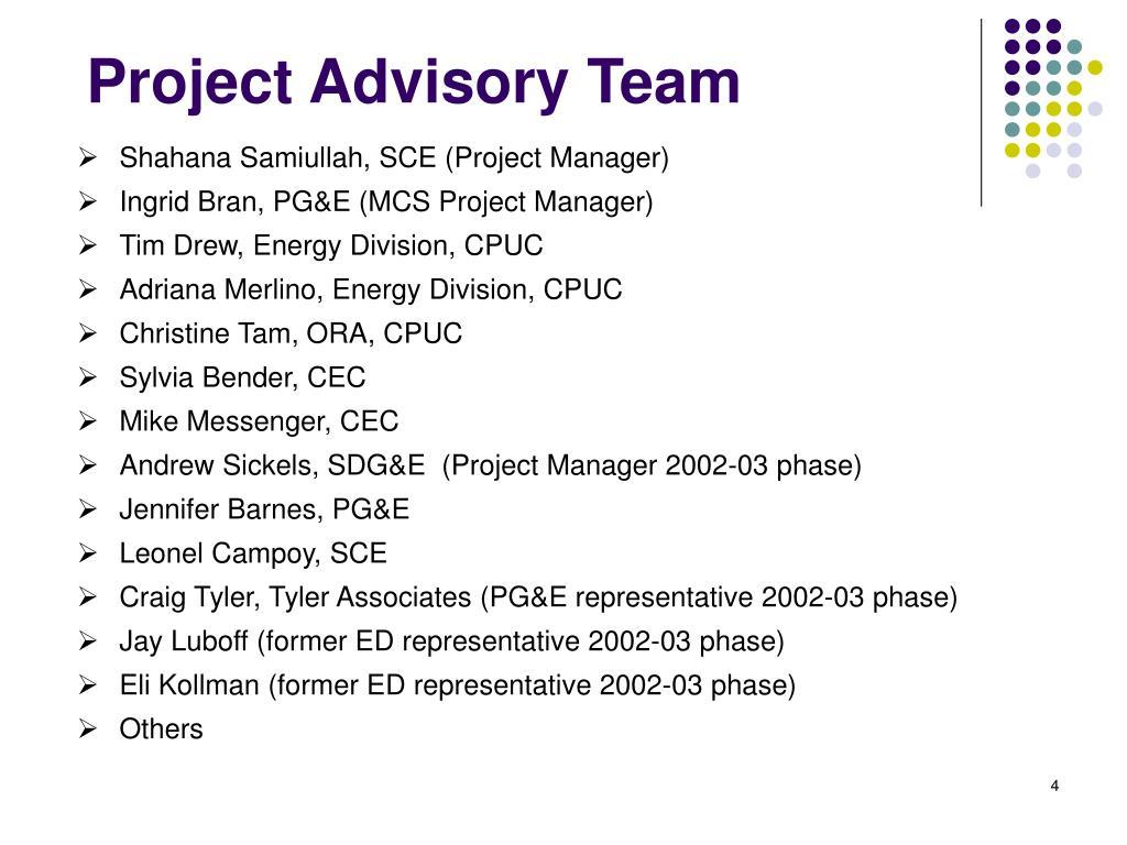 Shahana Samiullah, SCE (Project Manager)