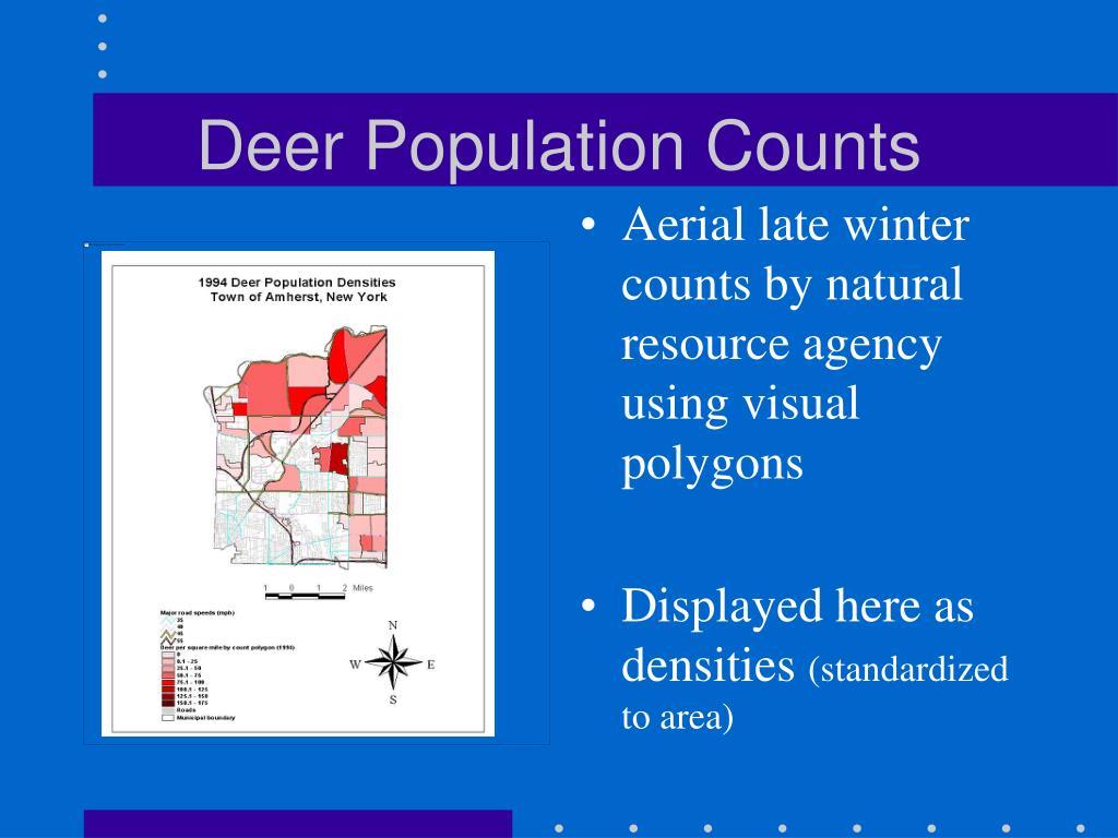 Deer Population Counts