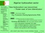 algerian hydrocarbon sector3