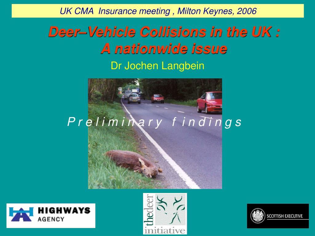 UK CMA  Insurance meeting , Milton Keynes, 2006