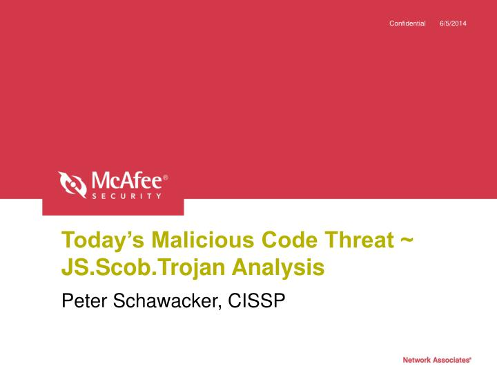 Today s malicious code threat js scob trojan analysis