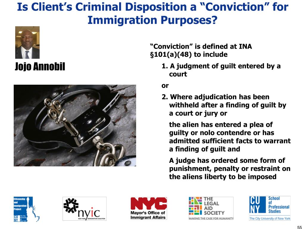 """Is Client's Criminal Disposition a """"Conviction"""" for Immigration Purposes?"""