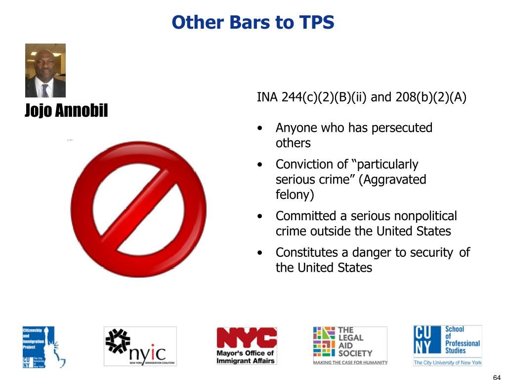 Other Bars to TPS