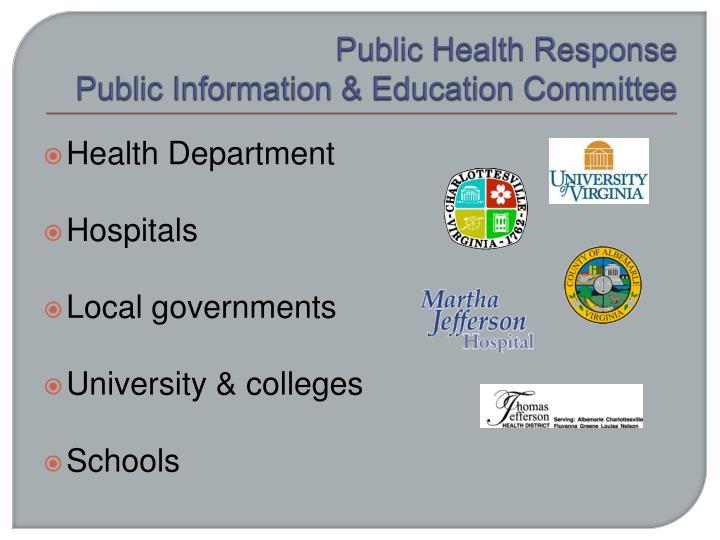Public Health Response