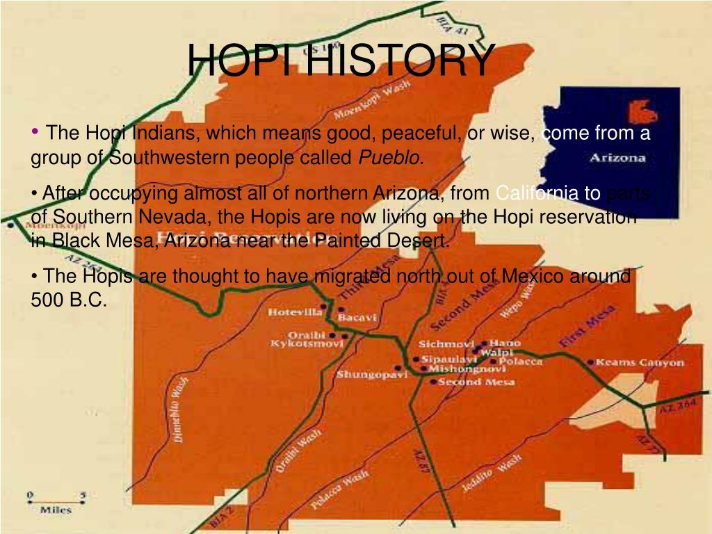 HOPI HISTORY