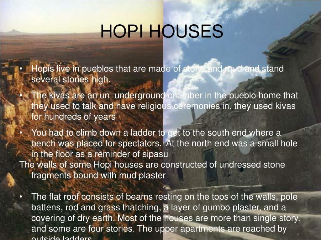 HOPI HOUSES