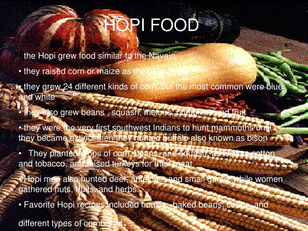 HOPI FOOD
