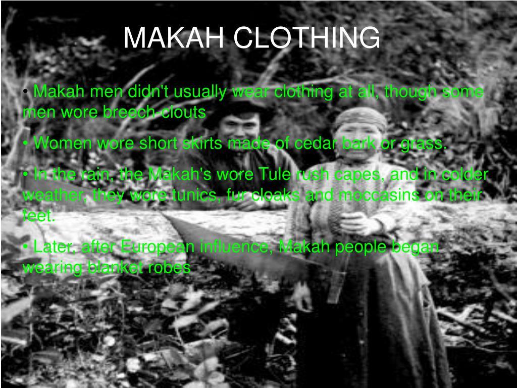 MAKAH CLOTHING