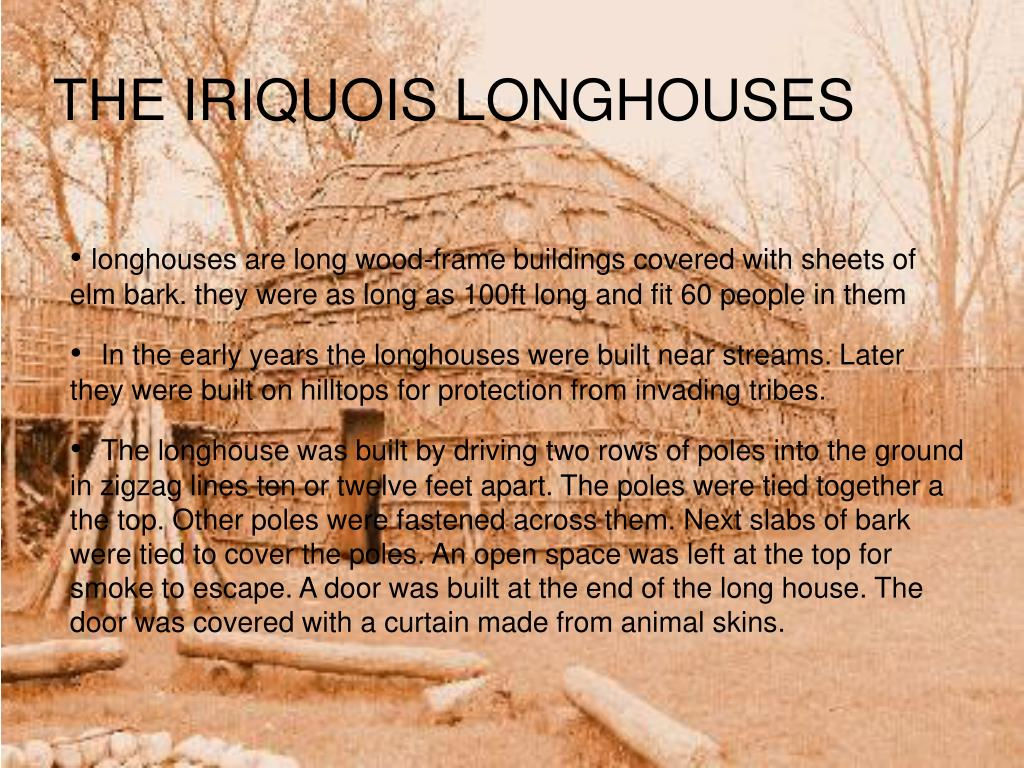THE IRIQUOIS HOUSES