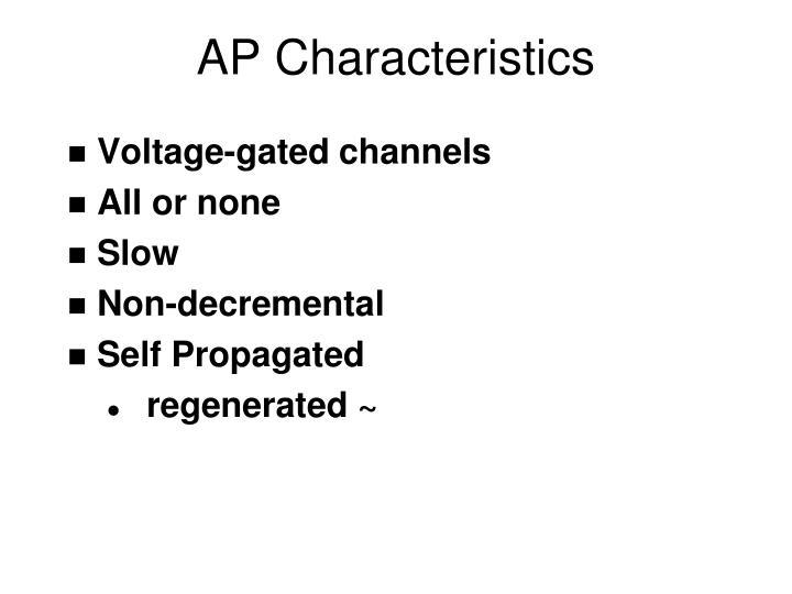 AP Characteristics
