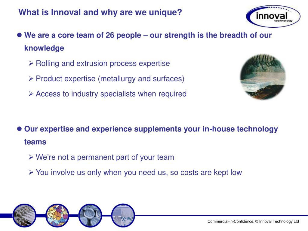 What is Innoval and why are we unique?