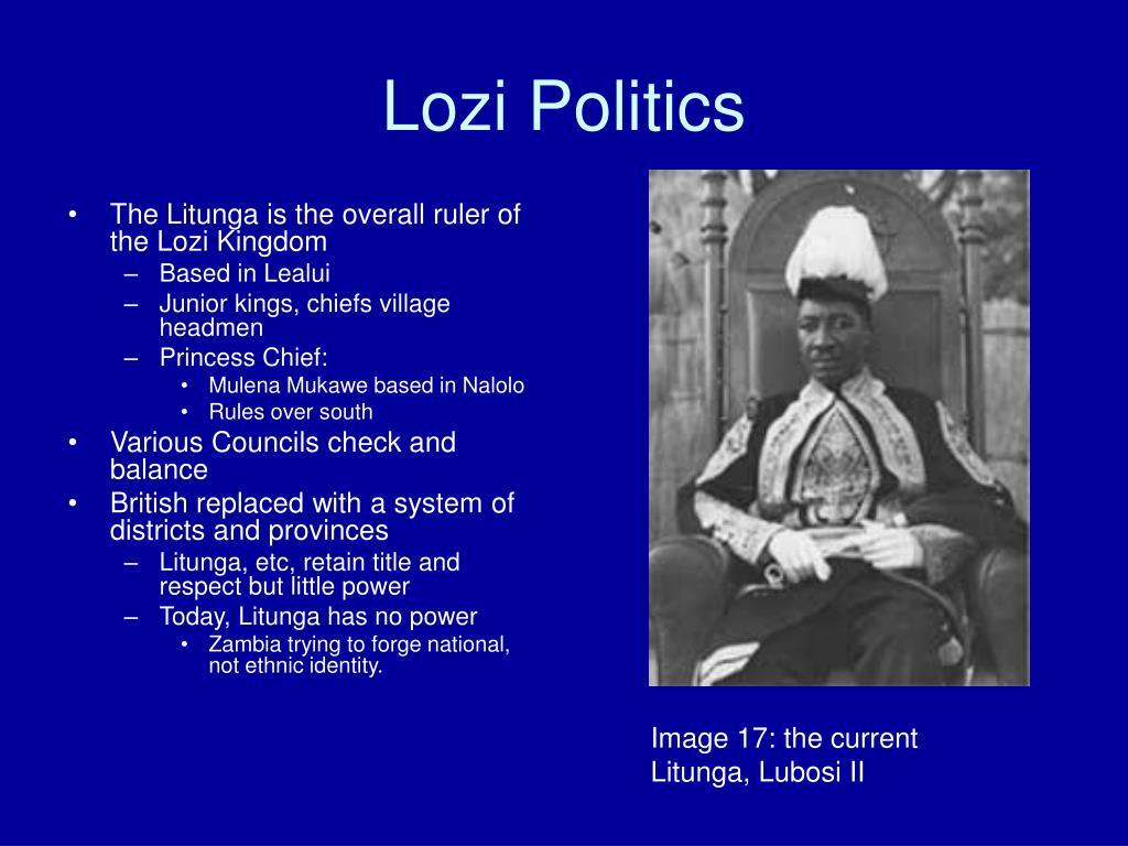 Lozi Politics