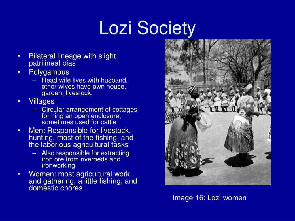 Lozi Society