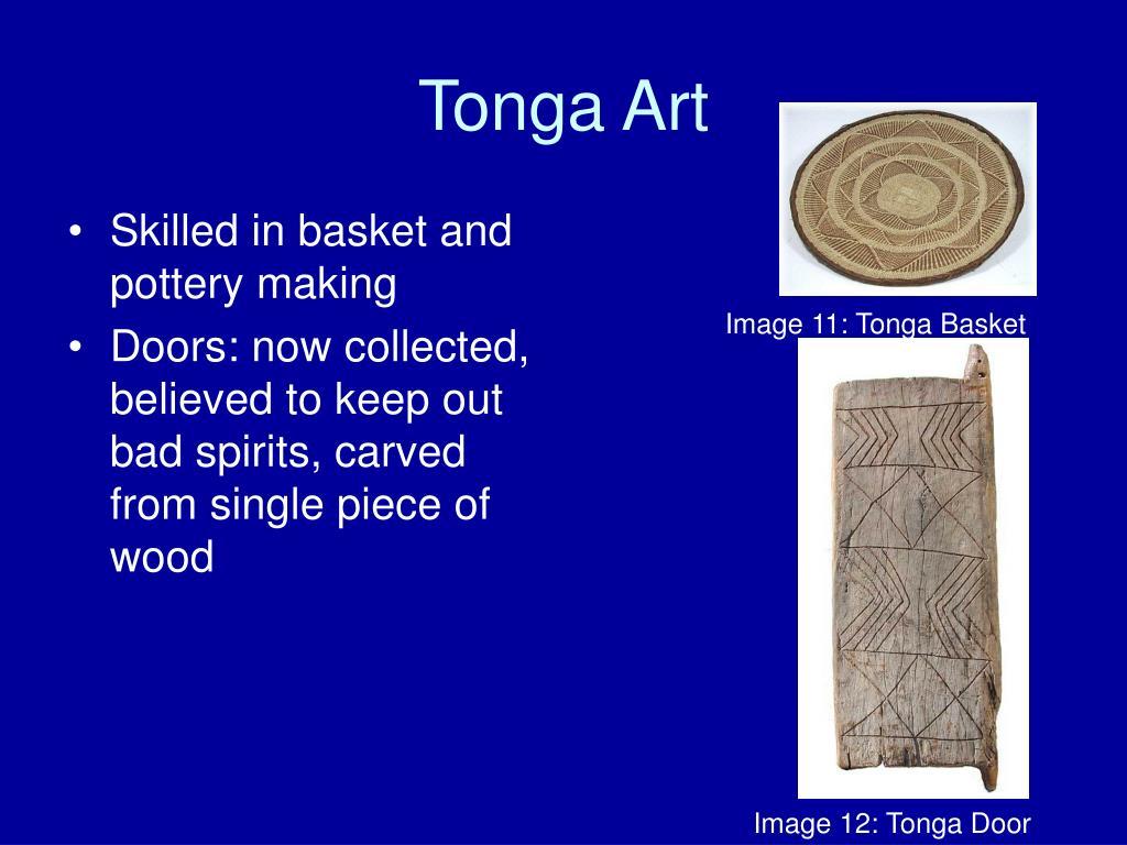 Tonga Art