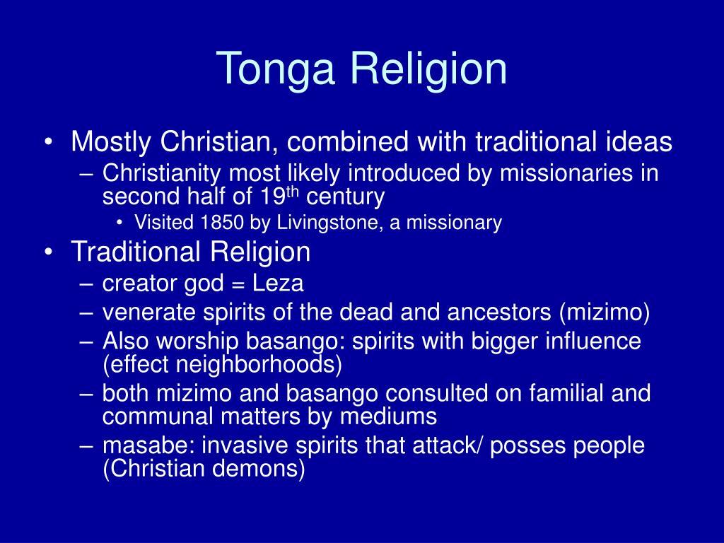 Tonga Religion