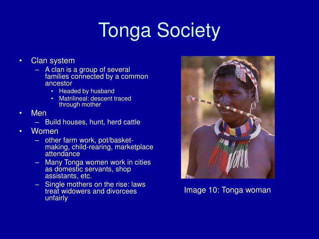 Tonga Society
