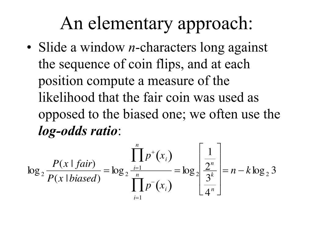 An elementary approach: