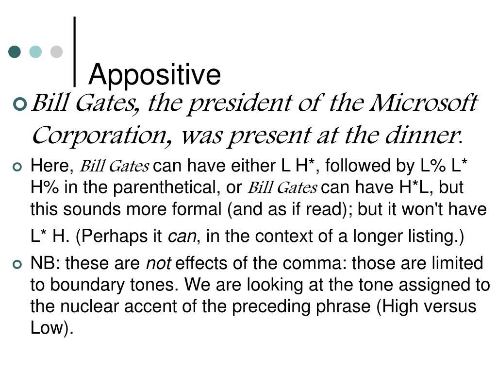 Appositive