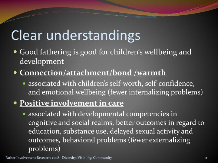Clear understandings