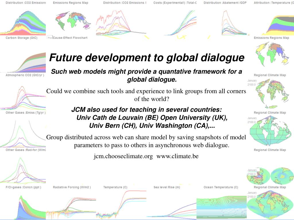 Future development to global dialogue