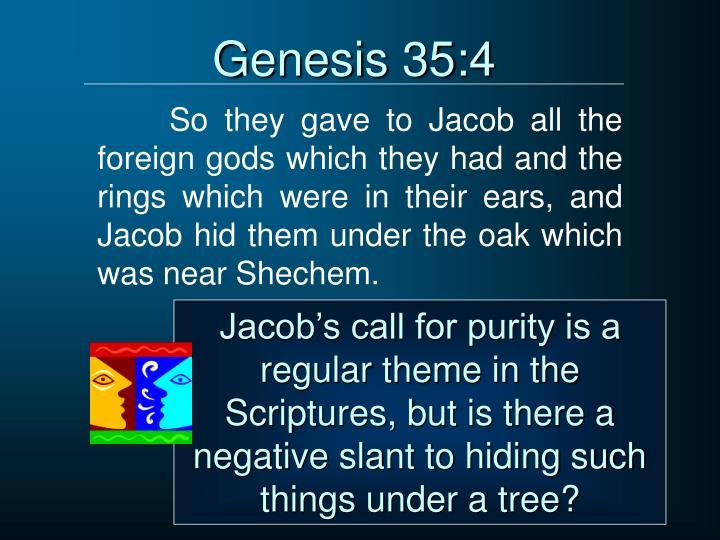Genesis 35:4