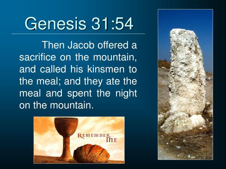 Genesis 31:54