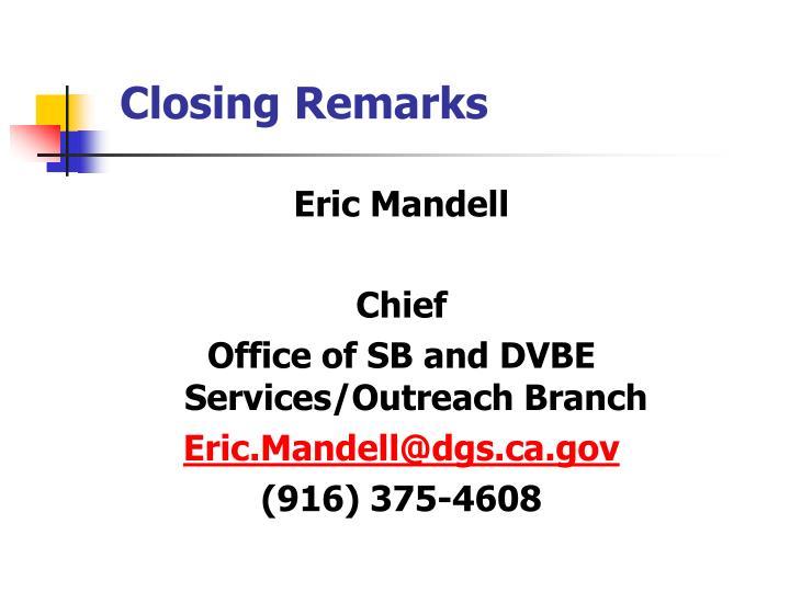 Eric Mandell
