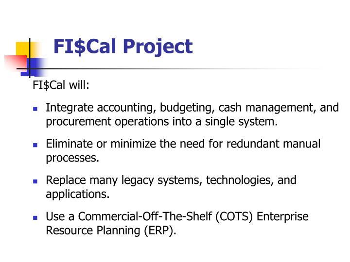 FI$Cal Project