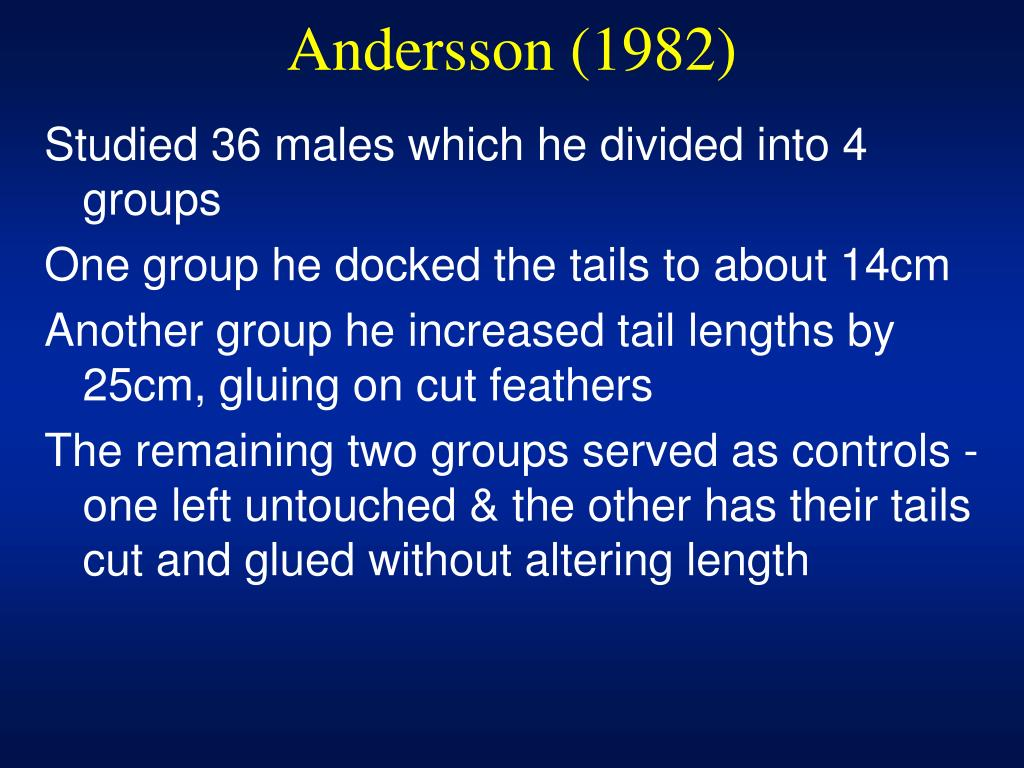 Andersson (1982)