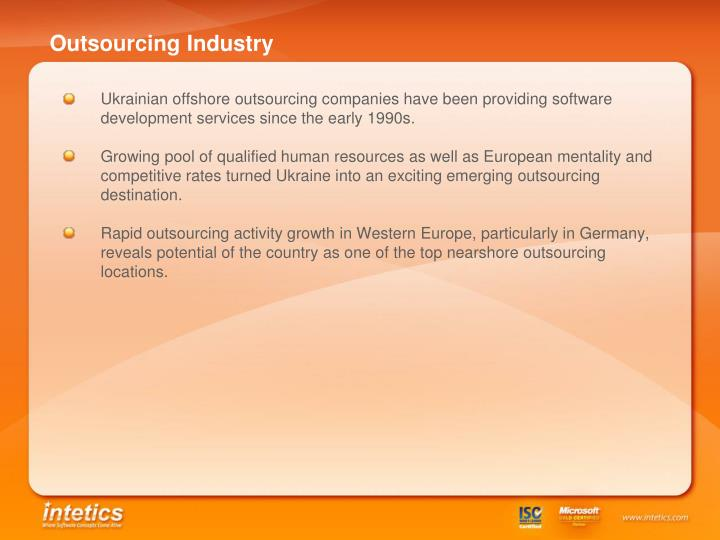Outsourcing Industry