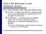 how a bill becomes a law textbook version29