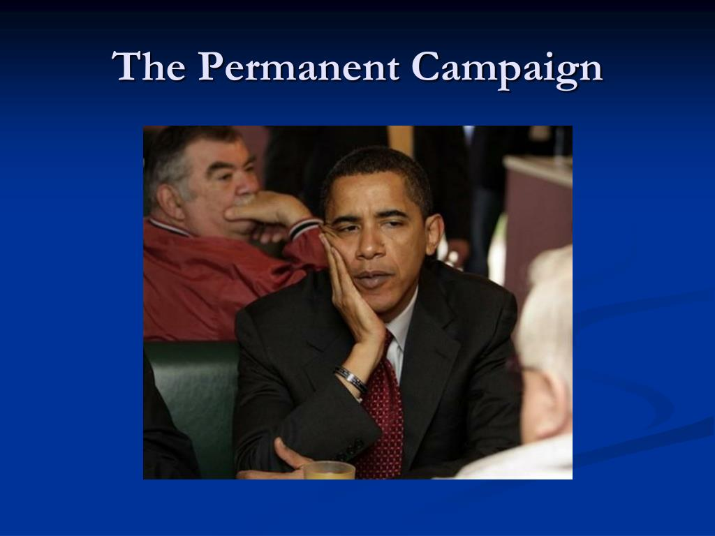 The Permanent Campaign