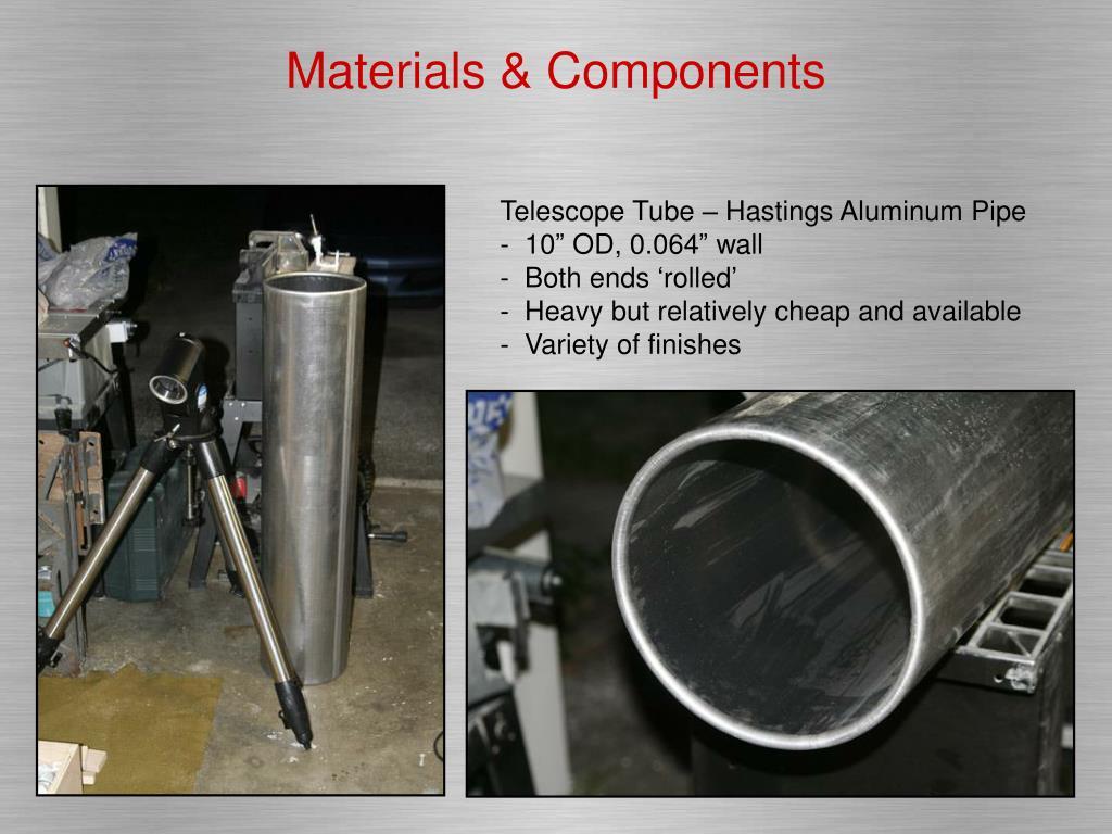 Materials & Components